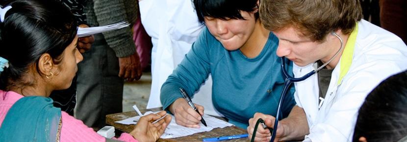 Vrijwilligerswerk gezondheidszorg project verpleegkunde