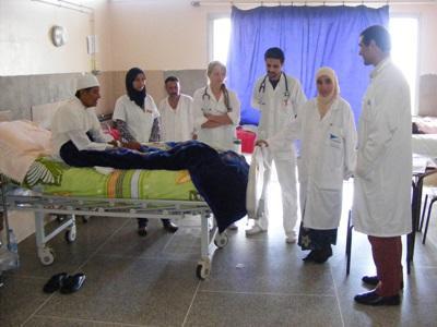 Vrijwilligerswerk verpleegkunde project in Marokko