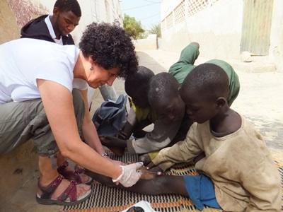 Vrijwilligerswerk verpleegkunde project in Senegal
