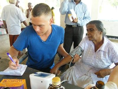 Vrijwilligerswerk verpleegkunde project in Sri Lanka
