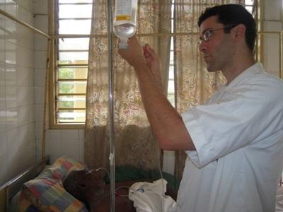 Vrijwilligerswerk verpleegkunde project in Togo