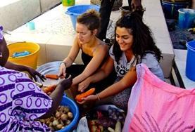 Gezondheidszorg vrijwilligerswerk in het buitenland: Voeding project