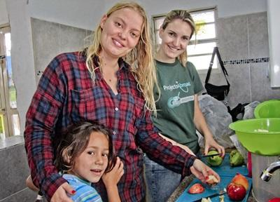 Vrijwilligerswerk voeding Bolivia