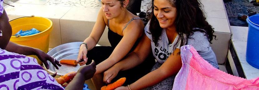 Vrijwilligerswerk gezondheidszorg project voeding