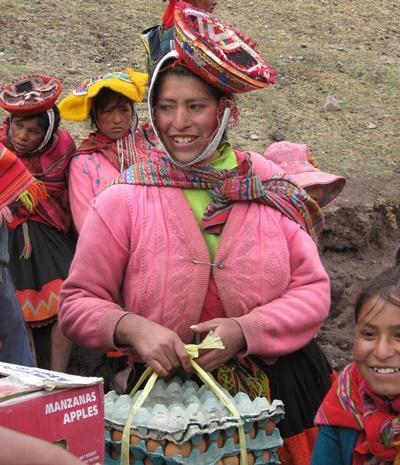 Gezonde voeding project in Peru