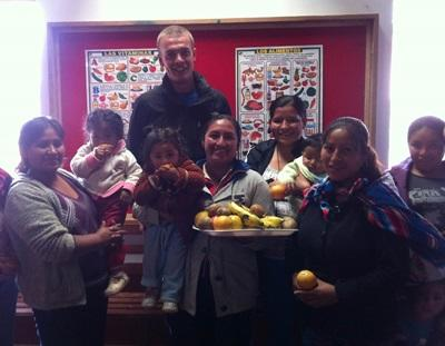Voeding project in Peru