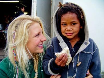Vrijwilligerswerk voeding project Zuid-Afrika