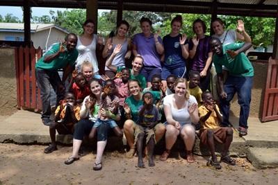 Kerstvakantie geneeskunde vrijwilligerswerk Ghana