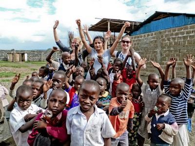 Kerstvakantie sociaal vrijwilligerswerk Ghana