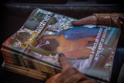 De Cochabanner wordt volledig door vrijwilligers van het journalistiek project gerund.