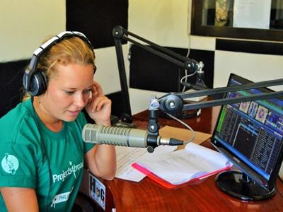 Vrijwilligerswerk radio journalistiek Filippijnen