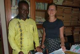 Journalistieke projecten in het buitenland: Togo