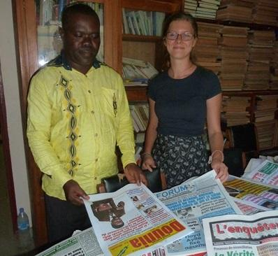 Vrijwilligerswerk journalistiek project in Togo