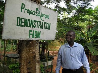 vrijwilligerswerk in de landbouw in ghana