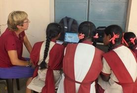 Lesgeven in het buitenland: India