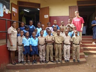 Vrijwilligerswerk computervaardigheden project in Jamaica