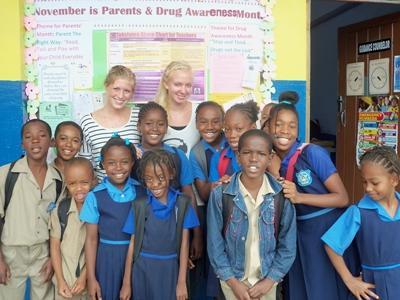 Computervaardigheden project in Jamaica