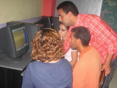 Computervaardigheden project in Marokko