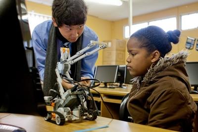 Computervaardigheden project in Zuid-Afrika