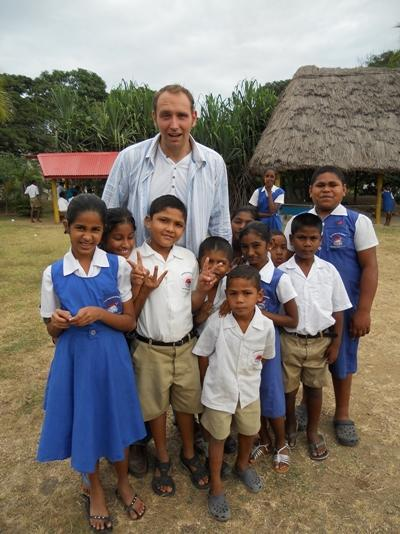 Vrijwilligerswerk lesgeef project op Fiji