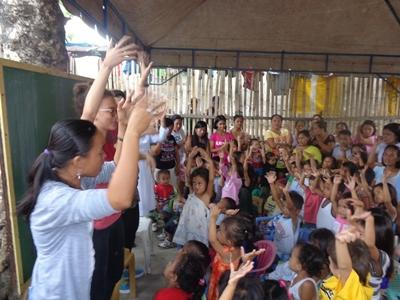 Vrijwilligerswerk lesgeef project in de Filippijnen
