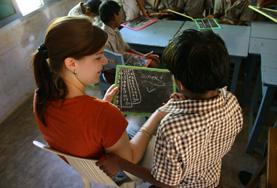 Vrijwilligerswerk in Bangladesh: Lesgeven