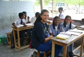 Vrijwilligerswerk in India: Lesgeven