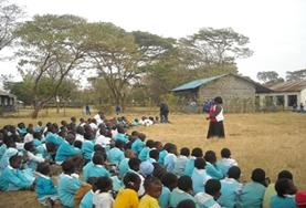 Vrijwilligerswerk in Kenia: Lesgeven project