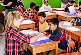 Vrijwilligerswerk lesgeven in het buitenland: Peru