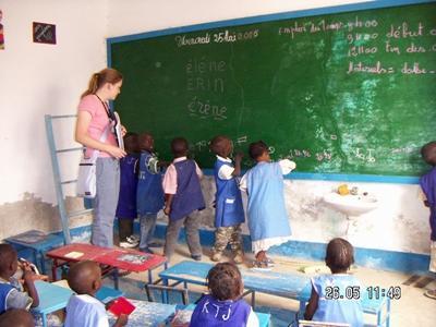 Vrijwilligerswerk lesgeef project in Senegal