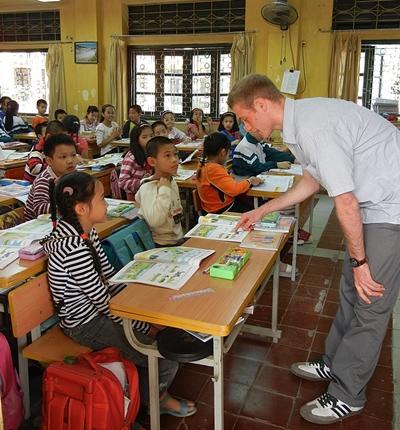 Vrijwilligerswerk lesgeef project in Vietnam