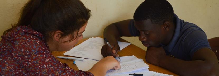 Tijdens een vrijwilligersproject in het buitenland leer je meer over microkrediet