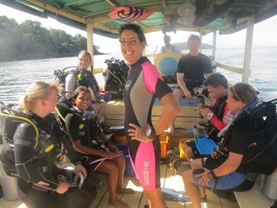 Tijdens jouw vrijwilligerswerk in Cambodja kun je een extra PADI Divemaster cursus doen.
