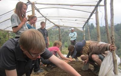 Natuurbehoud vrijwilliger in Nepal
