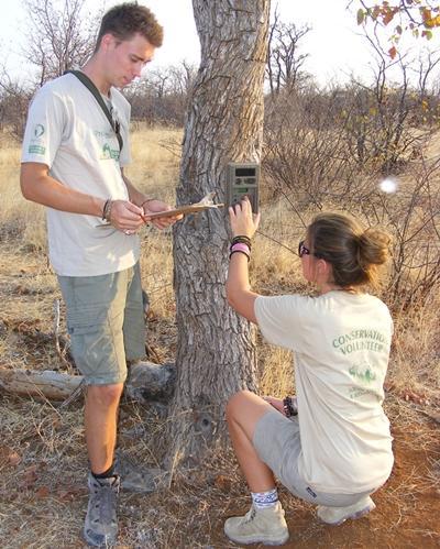 Samenwerken bij het natuurbehoudproject in Zuid-Afrika