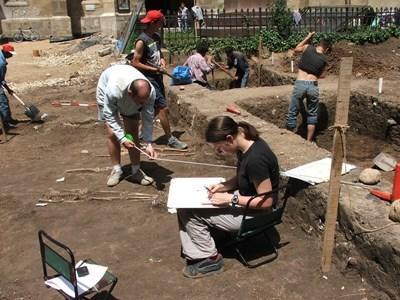 Archeologie vrijwilliger in Roemenië