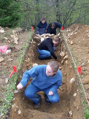 Professioneel archeologisch vrijwilligerswerk buitenland