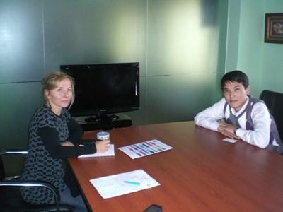 Econoom als vrijwilliger in Mongolië