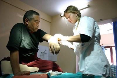 Vrijwilligerswerk acupuncturist in Nepal