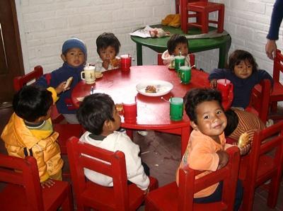 Vrijwilligerswerk voedingsproject in Bolivia