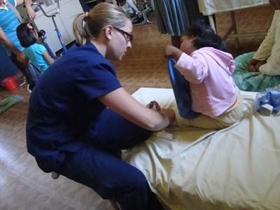 Fysiotherapeut als vrijwilliger in Bolivia