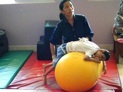 Vrijwilligerswerk fysiotherapeut in Cambodja
