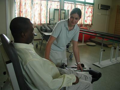 Doe als professioneel fysiotherapeut ervaring op tijdens het vrijwilligerswerk project in Ghana.