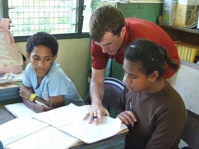Vrijwilligerswerk logopedist in Fiji