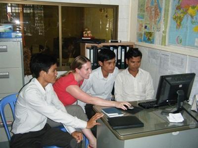 Vrijwilligerswerk journalistiek project in Cambodja