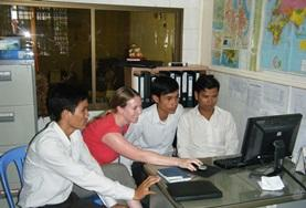 Vrijwilligerswerk in Cambodja: Journalistiek