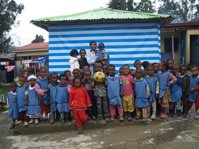 Gymleraar in Ethiopië
