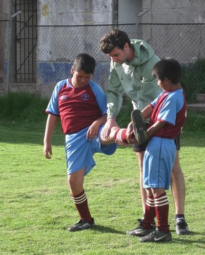 Vrijwilligerswerk gymleraar in Peru