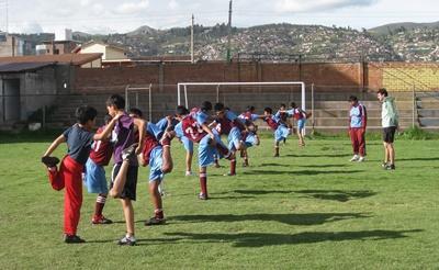 Gymleraar in Peru