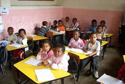 Lesgeven als vrijwilliger in Ethiopië
